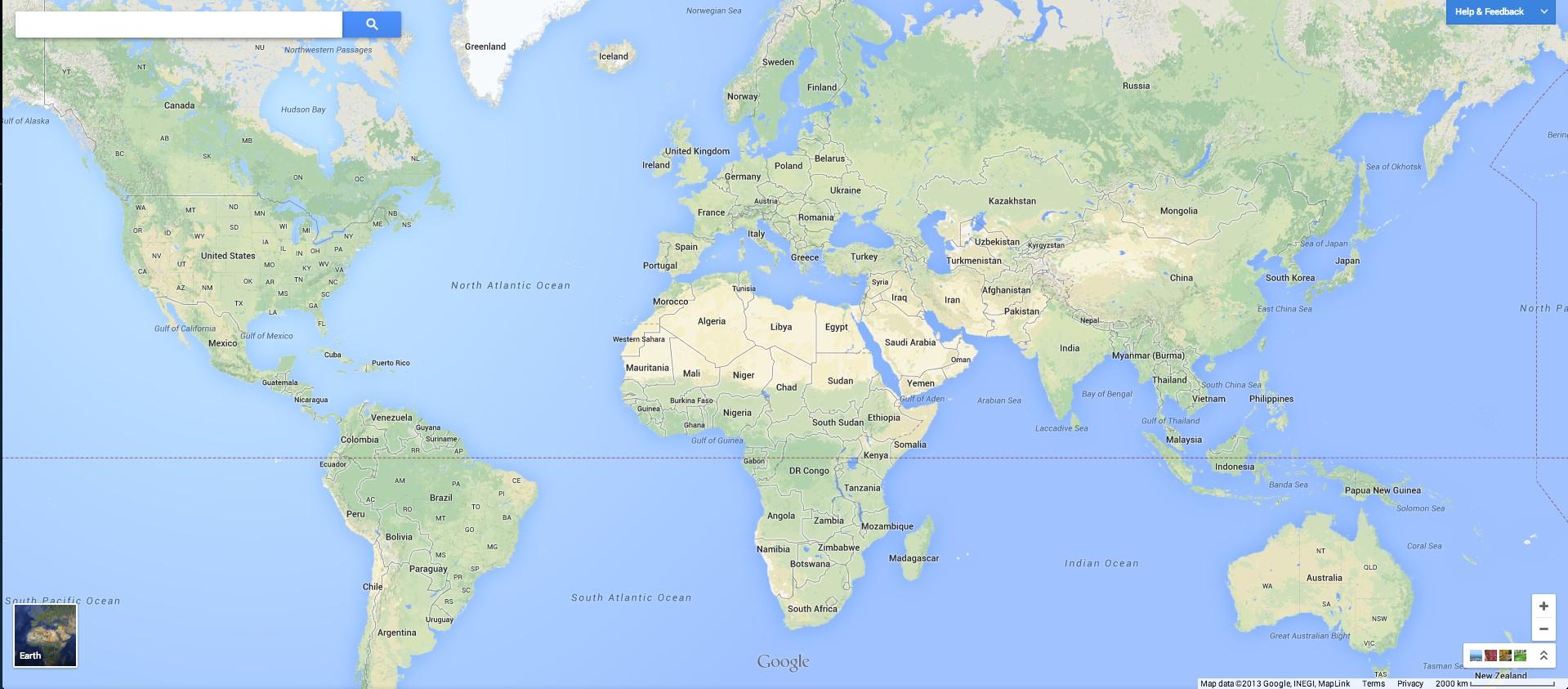 Google Maps ändert Darstellung der Erde: Die Erde ist nun endlich ...