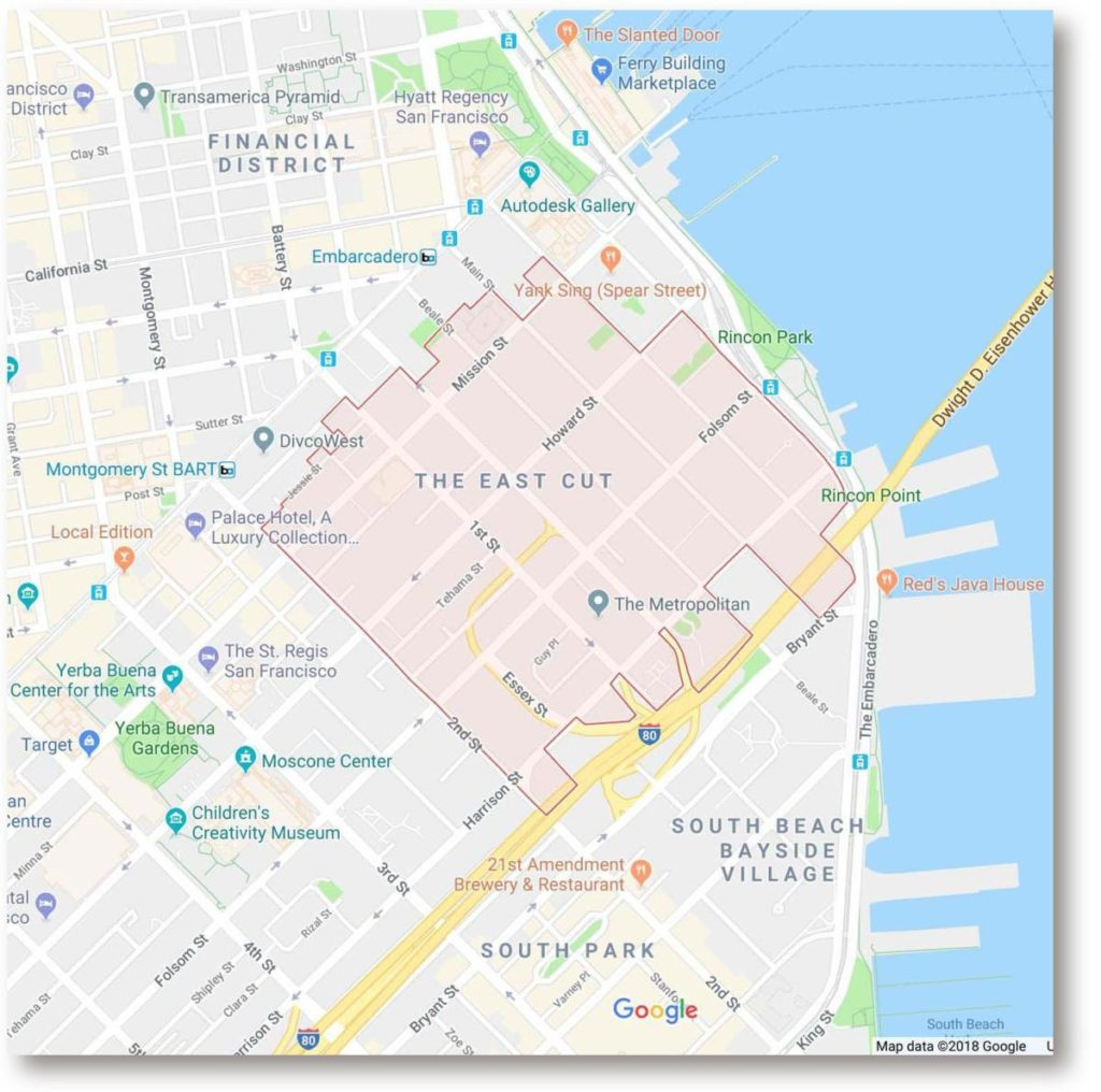 google maps east cut error
