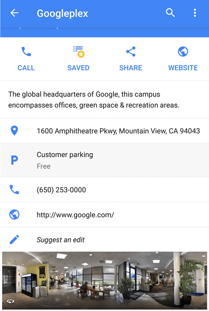 google maps free parking