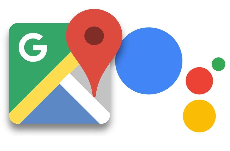 google maps google assistant logo