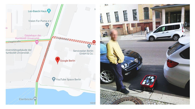 google maps hack berlin
