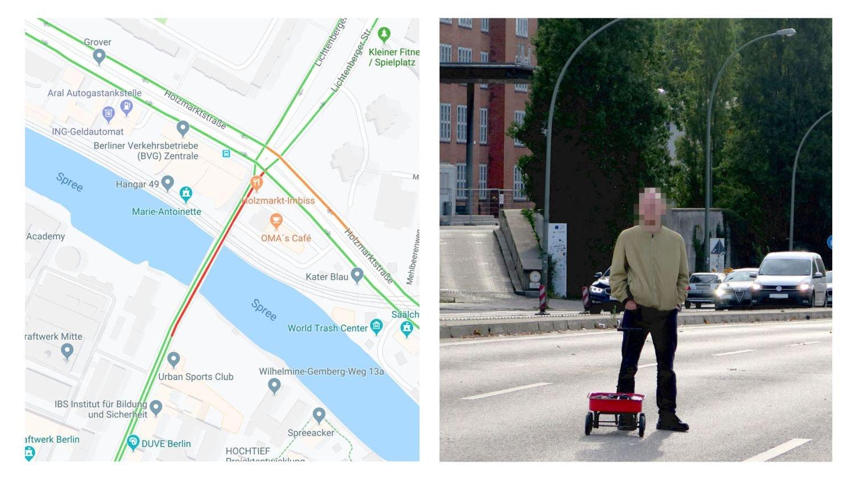 google maps hack street