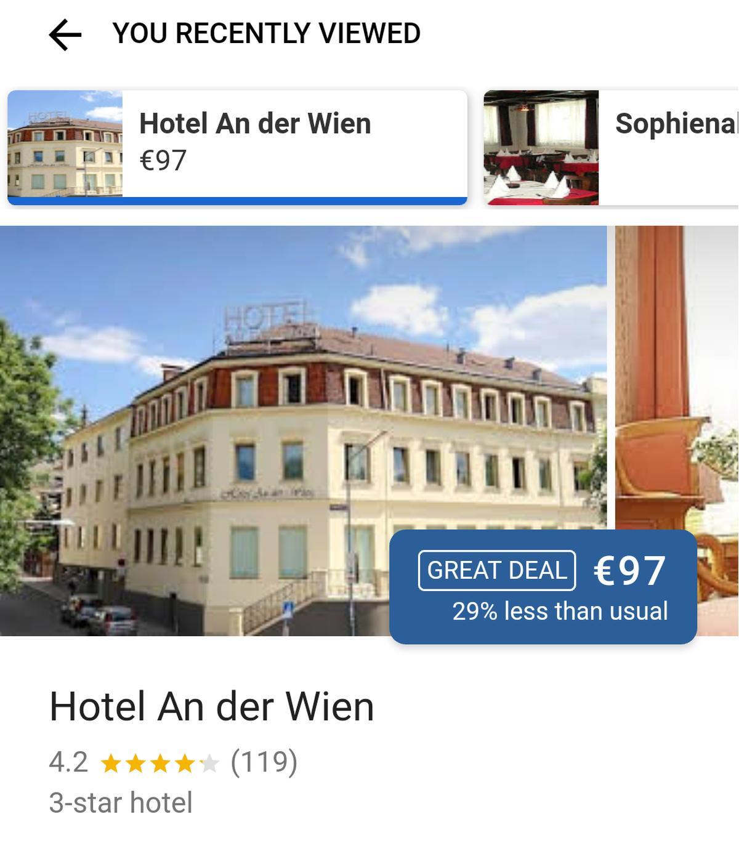 google maps hotel