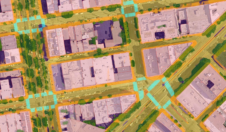 google maps karte satellit fussgaenger