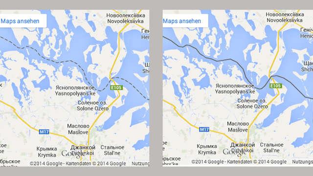 google maps krim