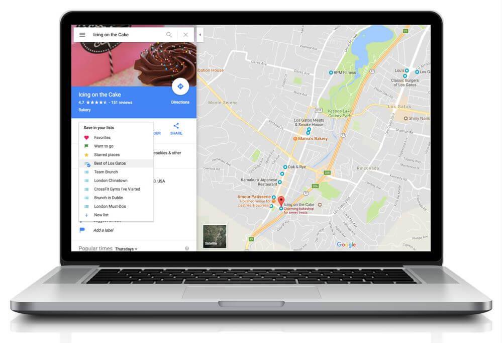 google maps listen