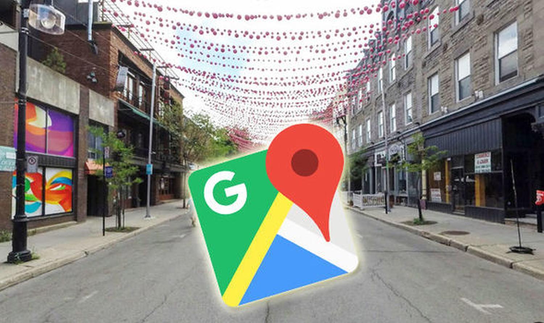 google maps live