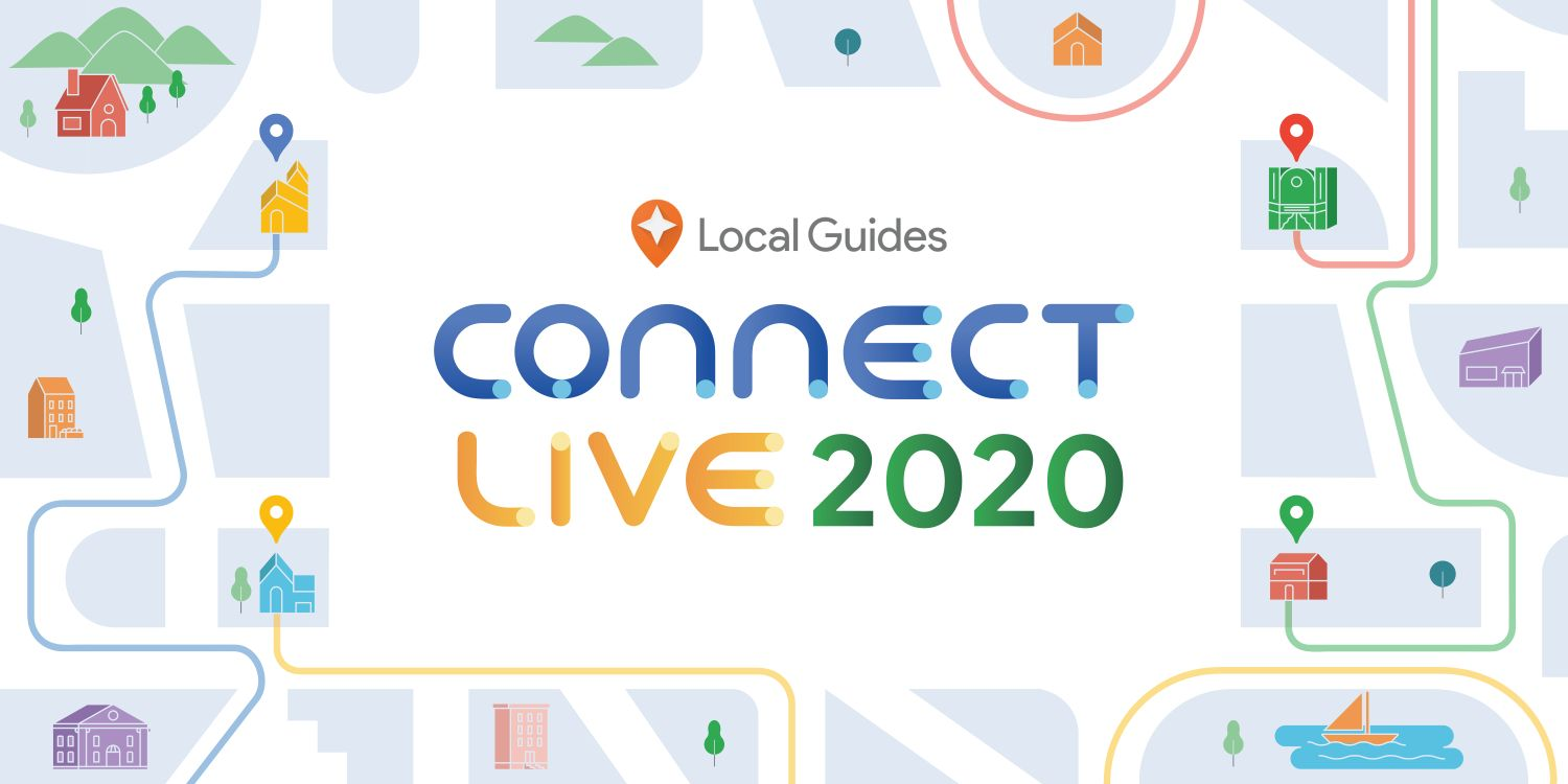google maps local guides connect live 2020 logo