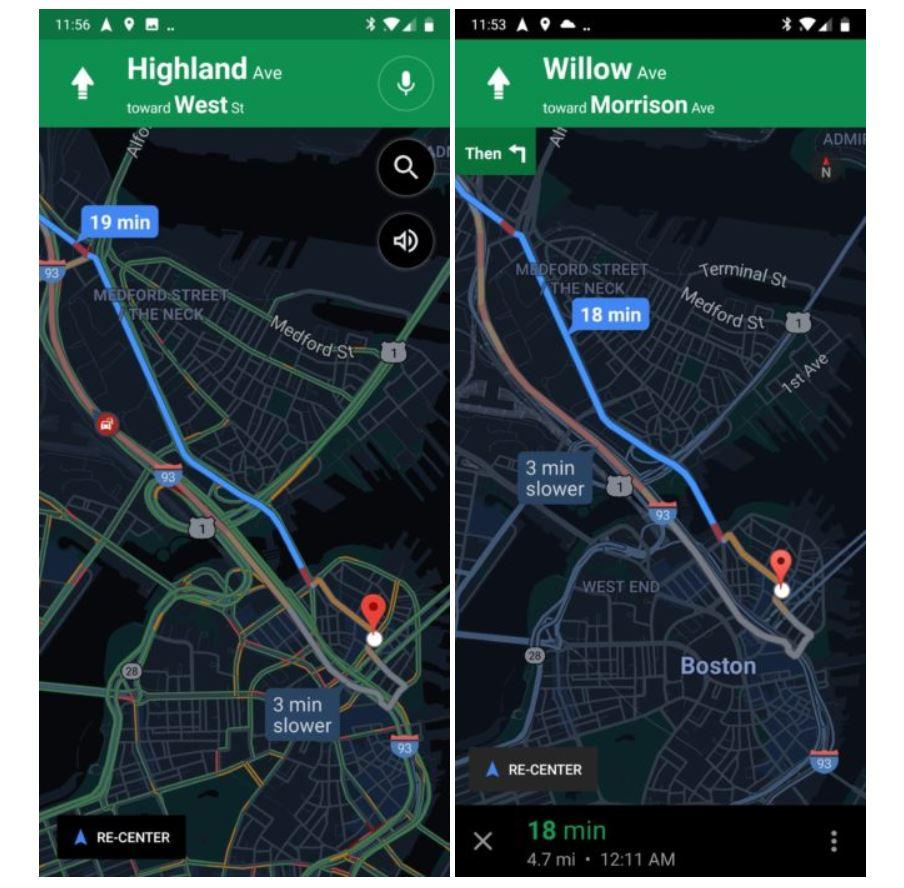 google maps navigation vergleich