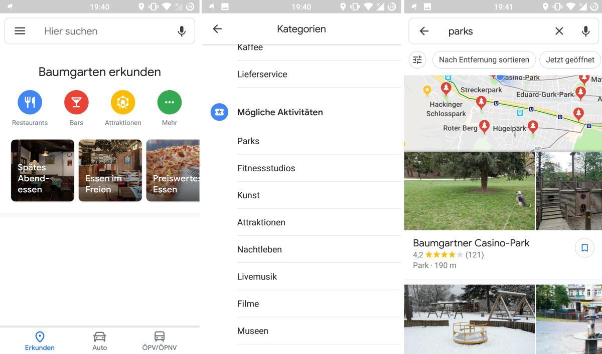 Google Maps Beschleunigen