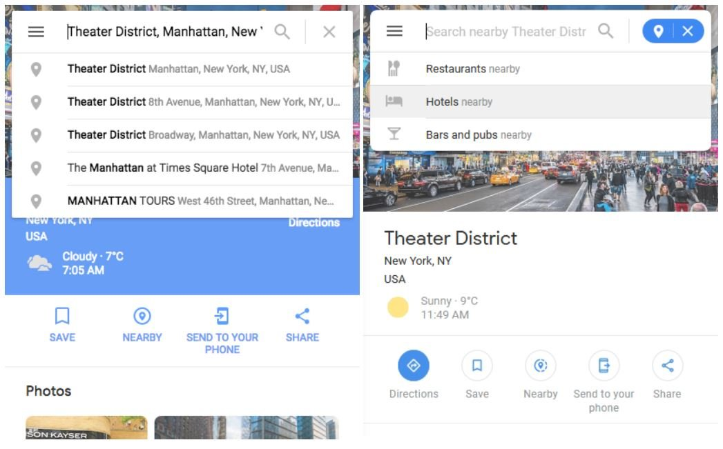 google maps new design 2