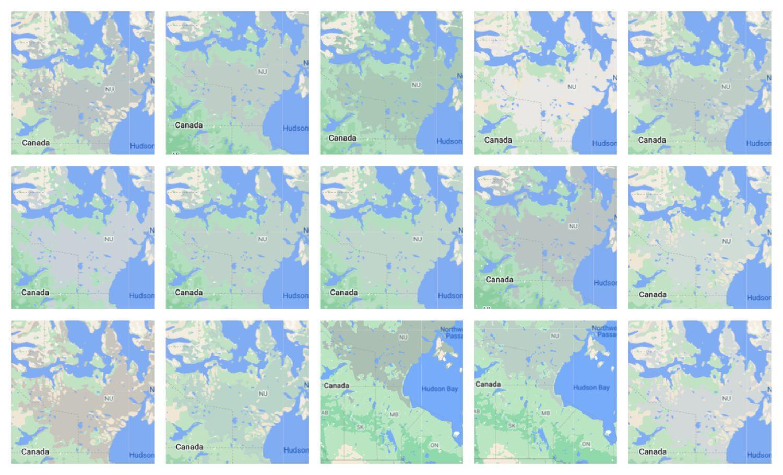 google maps new design tundra