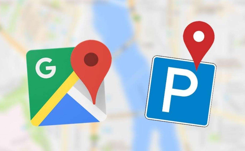 google maps parkplatz