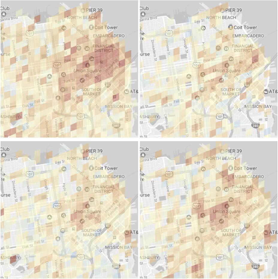 google maps parkplatzsuche modell