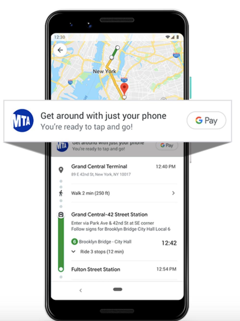 google maps pendler