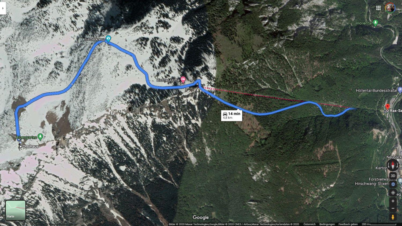google maps rax