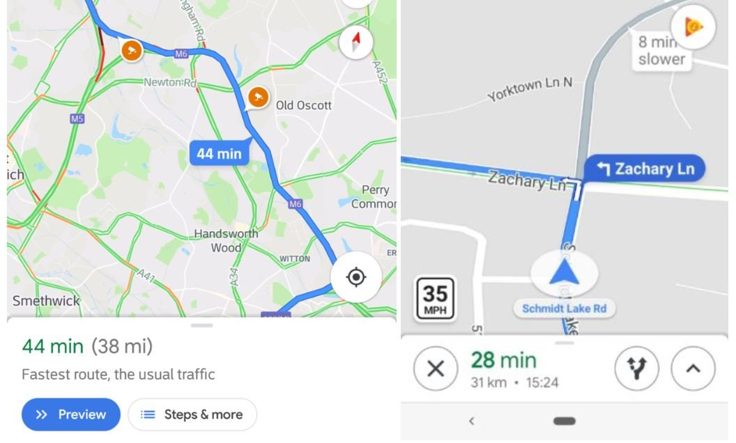 google maps speed blitzer
