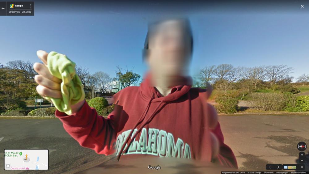 google maps streetview car clean