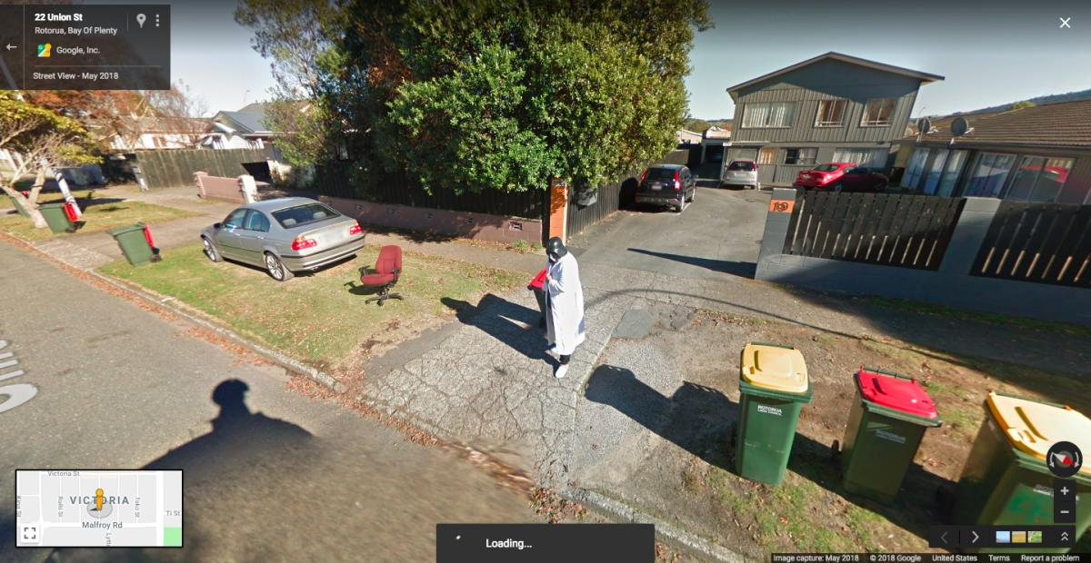 google maps streetview darth vader