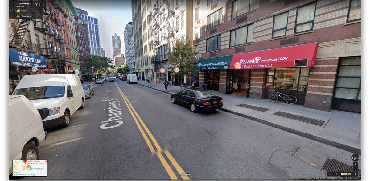 google maps streetview marker
