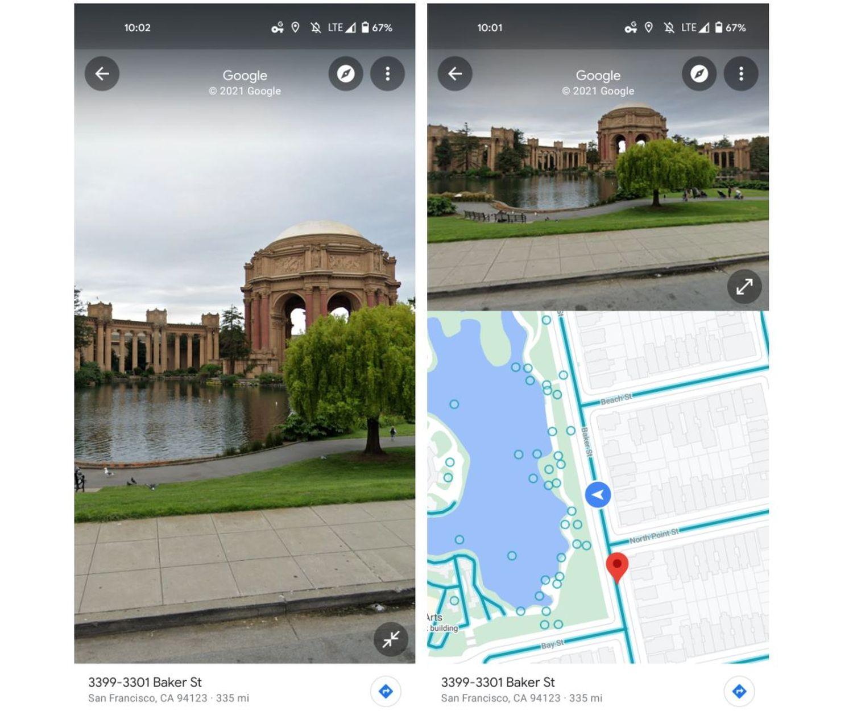 Google Maps Streetview Splitscreen