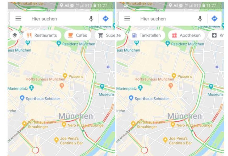 google maps test schwebende elemente