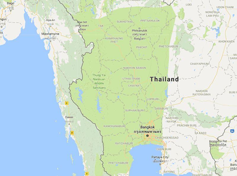 Google Maps Thailand