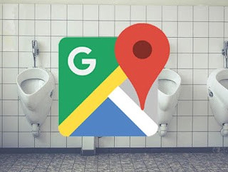 google maps toilet logo