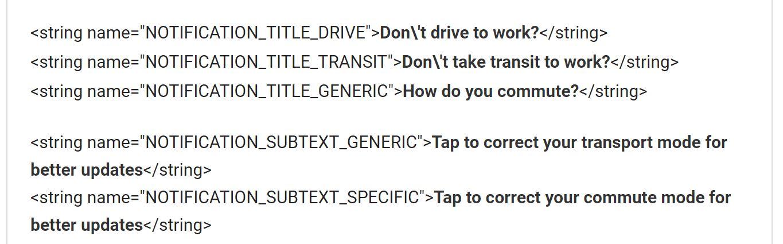 google maps transport zur arbeit