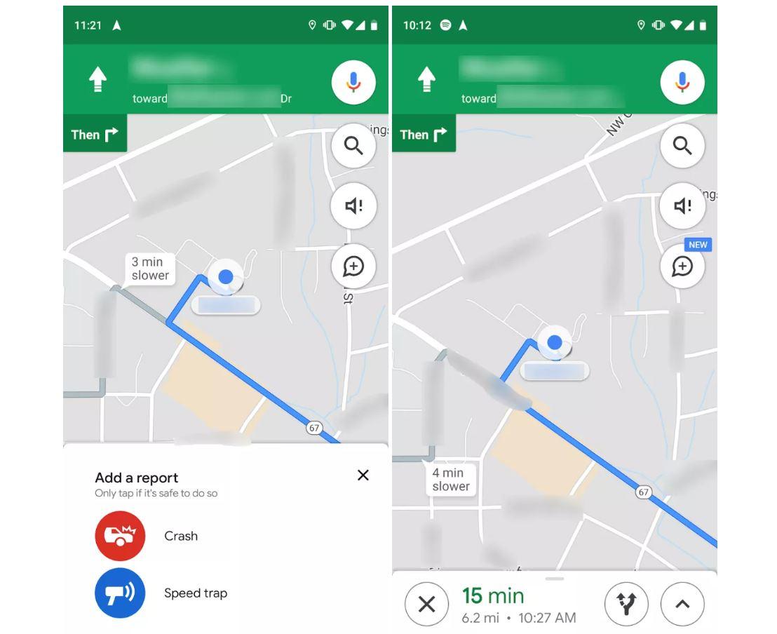 Google Maps Blitzerwarner