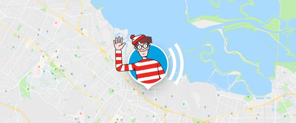 google maps wo ist walter
