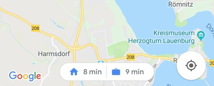 google maps zeit test