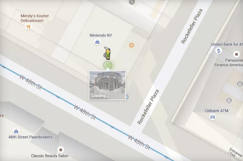 google maps zelda