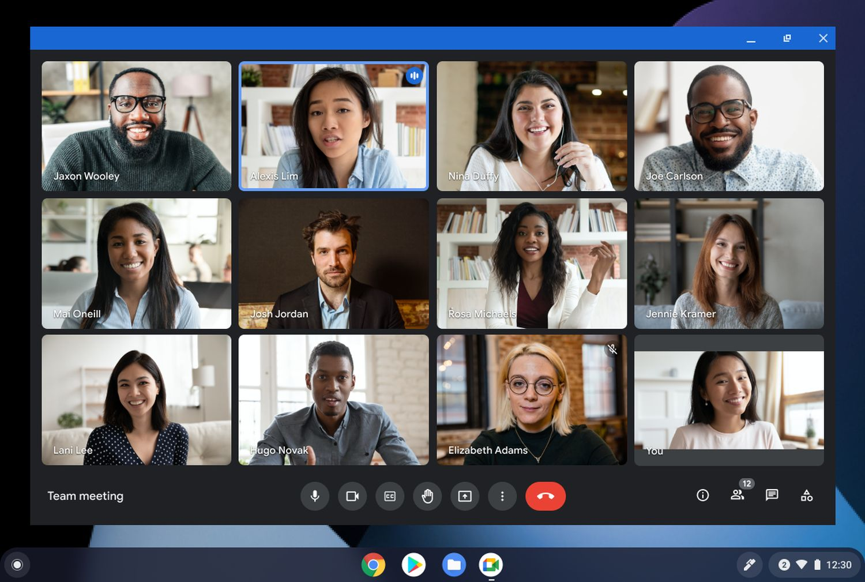 google meet progressive web app