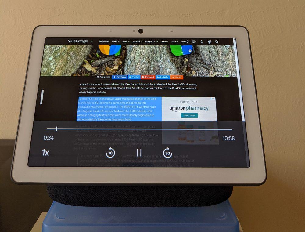 google nest hub max browser vorlesen 2
