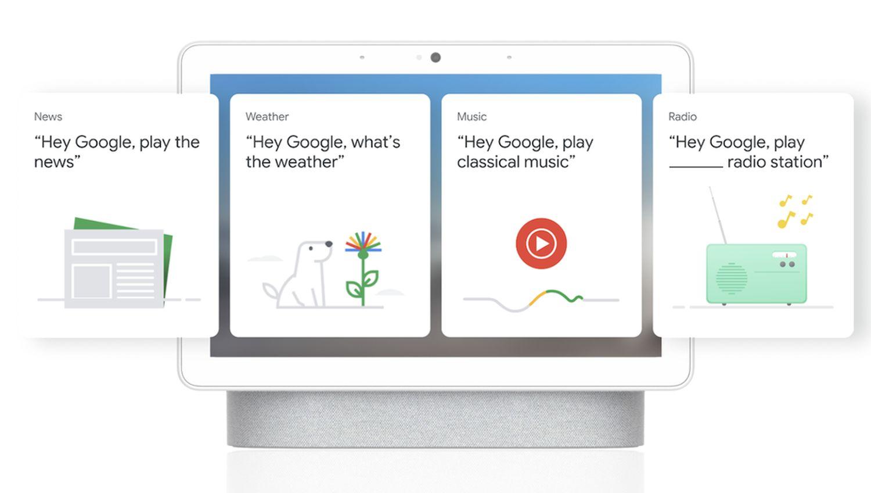 google nest hub simple