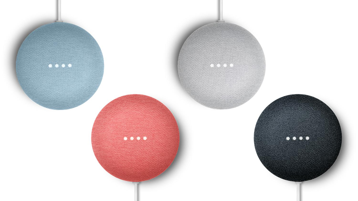 google nest mini smart speaker
