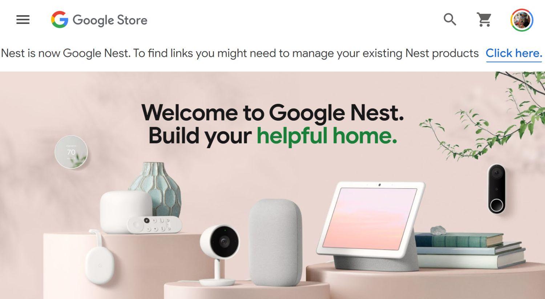 google nest store