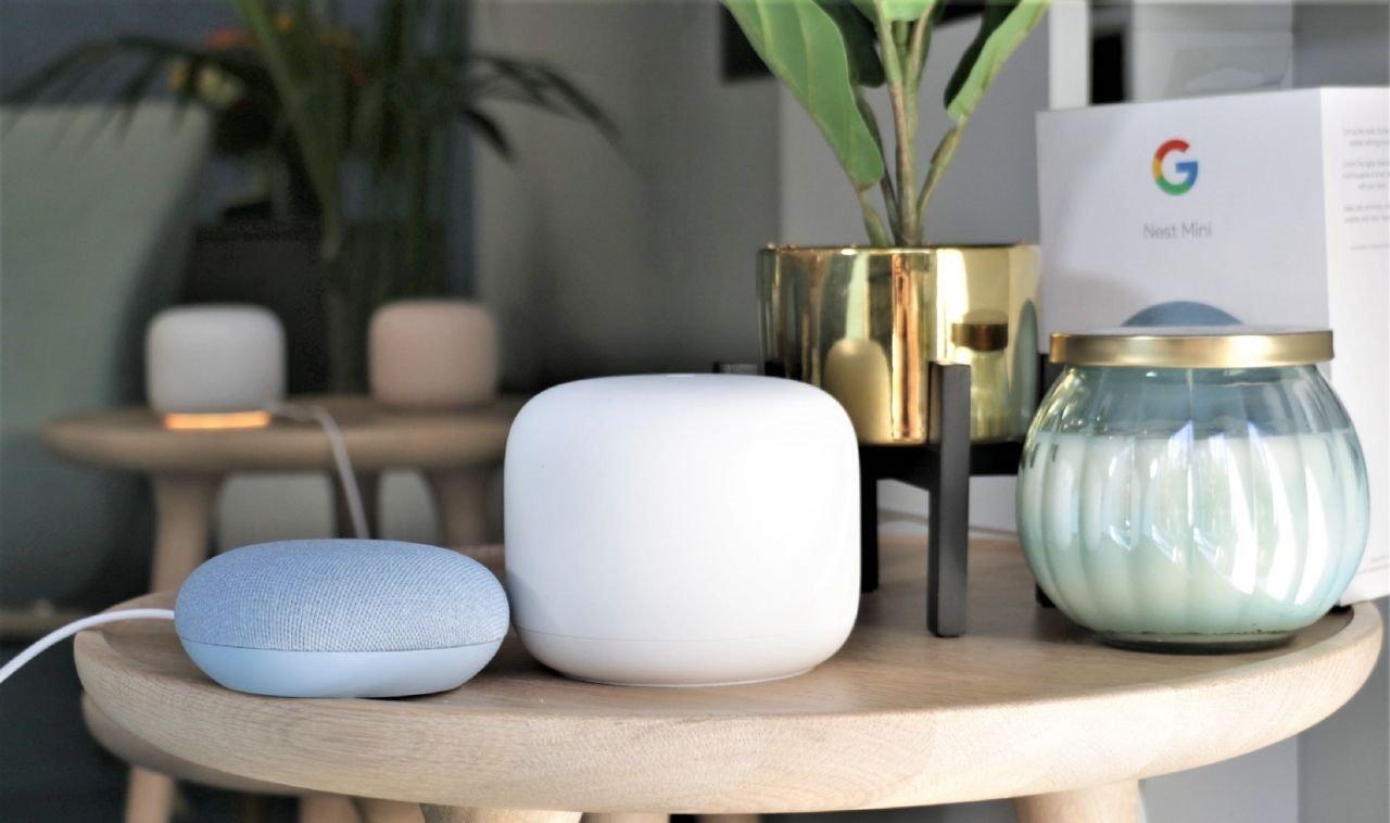 google nest wifi and mini