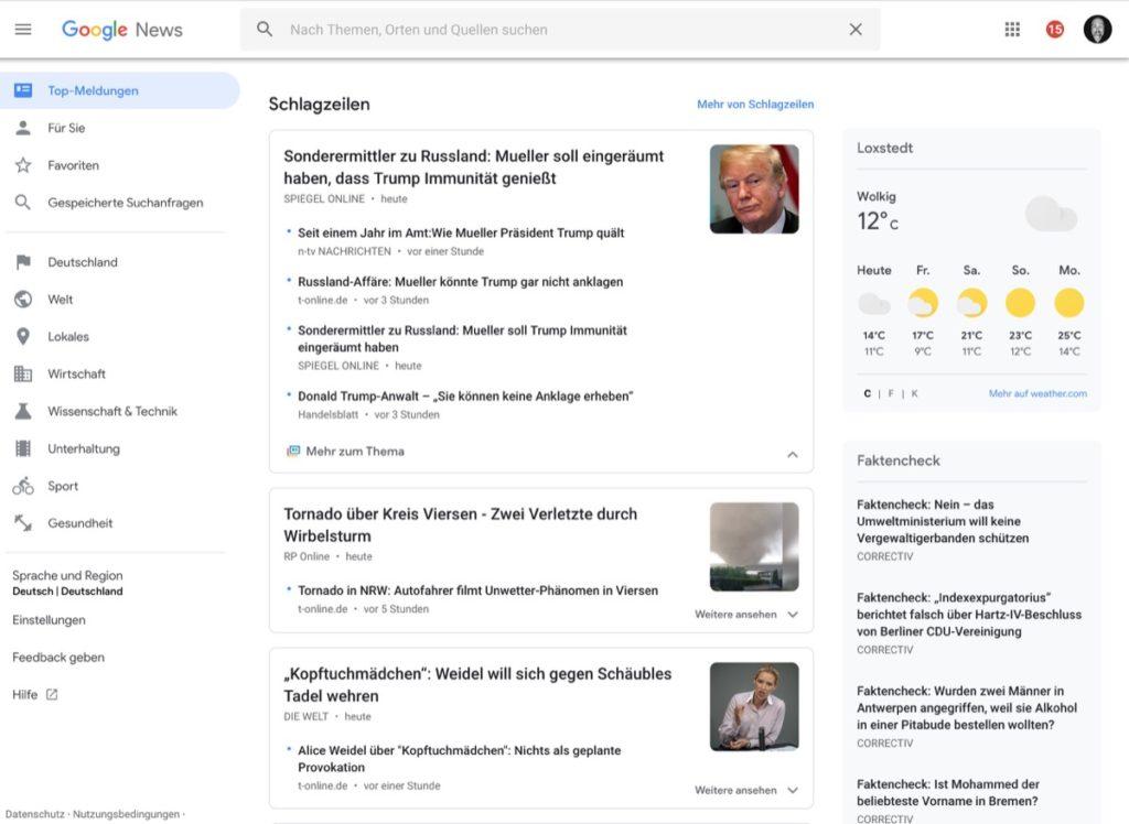 google news neu