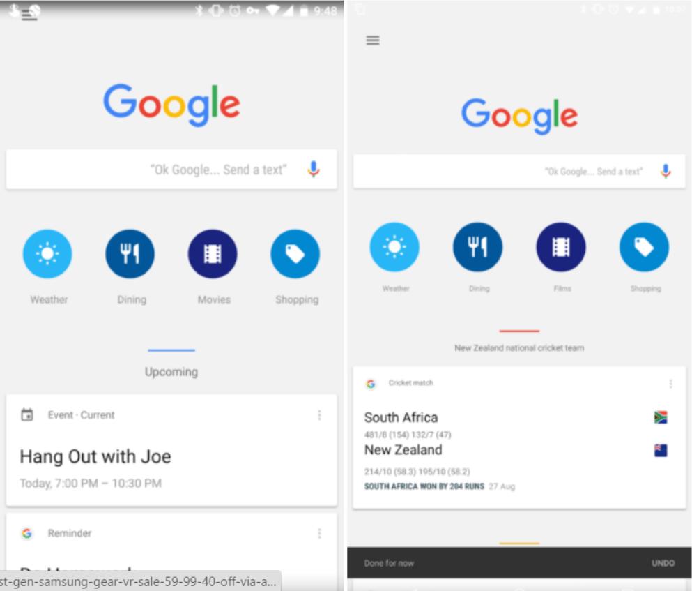 google now icons