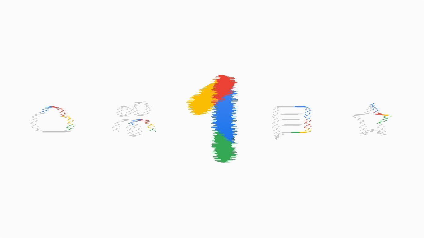 google one blur