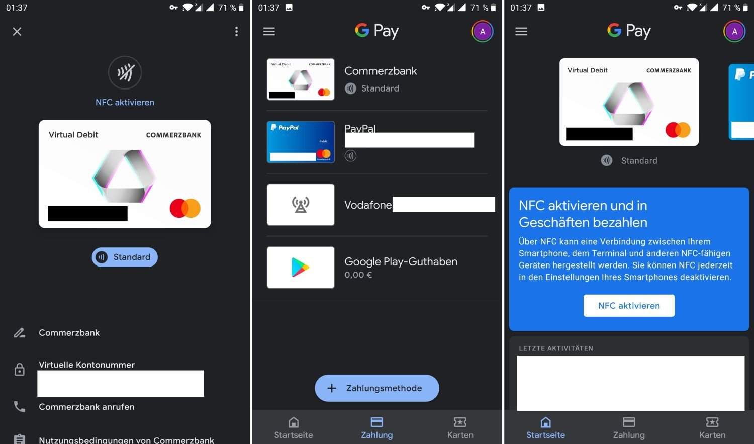 google pay commerzbank