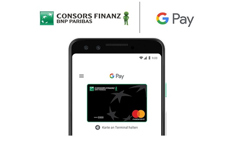 google pay consors finanz