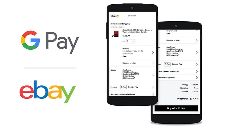 Google Pay & eBay: Der Online-Marktplatz kündigt Unterstützung von Googles Zahlungsplattform an