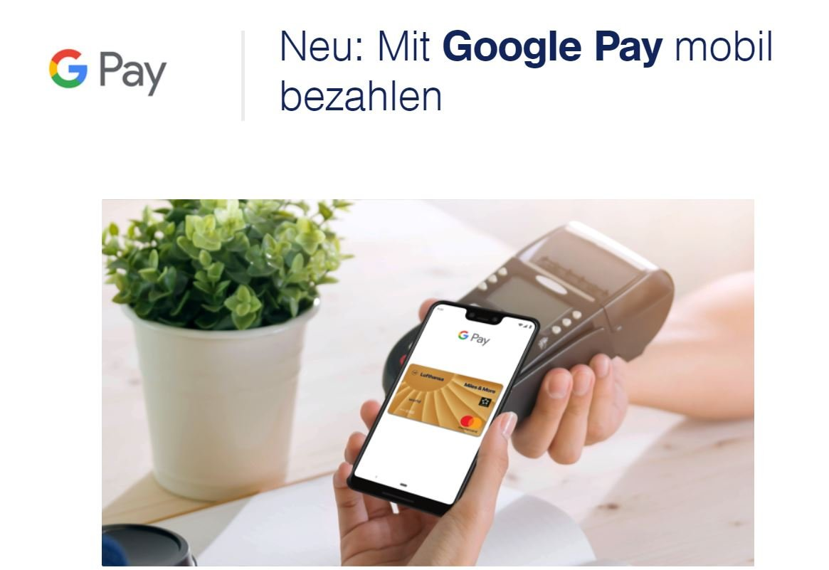 google pay miles and more