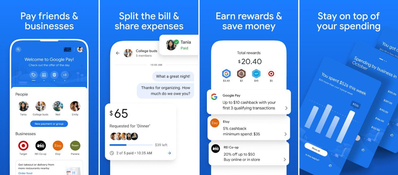google pay new app screenshots 1