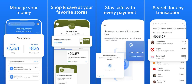 google pay new app screenshots 2