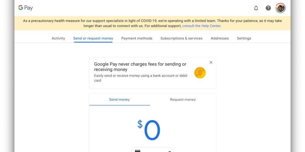 google pay new