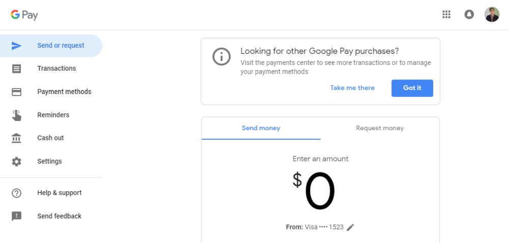 google pay old